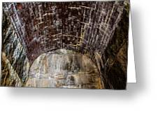 Arch Of Bricks Greeting Card by Jason Brow
