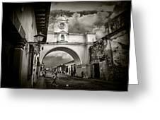 Arch Of Santa Catalina Greeting Card