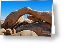 Arch Rock - Joshua Tree National Park  Greeting Card