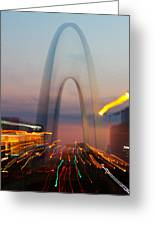Arch Special Effect Greeting Card