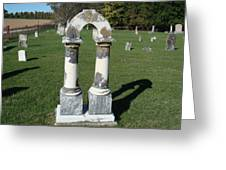 Arch Tombstone2 Greeting Card