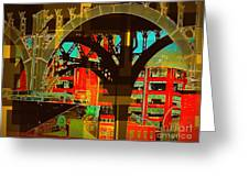 Arch Two - Architecture Of New York City Greeting Card