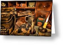 Archaeologist -  The Adventurer's Jornal Greeting Card