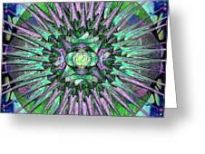 Archangels Gather Mandala Greeting Card