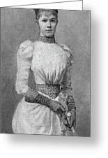 Archduchess Marie Valerie Of Austria Greeting Card