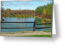 Arched Bridge Greeting Card