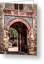 Arched  Gate Greeting Card