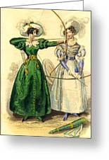 Archery Duchess Greeting Card