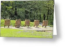 Archery Range Greeting Card