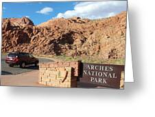 Arches National Park 2 Greeting Card