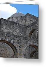 Arches And A Cross Greeting Card