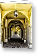 Arches And Lanterns Greeting Card by Thomas R Fletcher