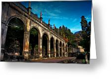 Arches And Statues Greeting Card