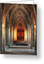 Arches At Duke Chapel Greeting Card