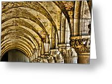 Arches At St Marks - Venice Greeting Card