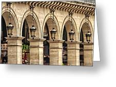 Arches In A Row  Greeting Card