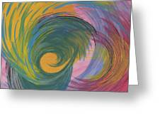 Arches  Swirls Greeting Card