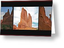 Arches National Park Panel Greeting Card