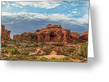 Arches National Park Pano Greeting Card