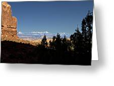 Arches National Park Utah Greeting Card