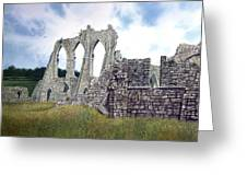 Arches Of Bayham Abbey Greeting Card