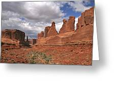 Arches Park Avenue Greeting Card