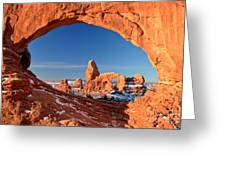 Arches Sandstone Frame Greeting Card
