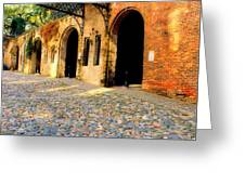 Arches Under The Bridge Greeting Card