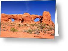 Arches Windows Greeting Card
