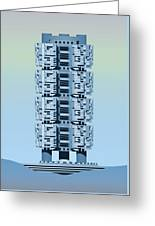 Archisystems Greeting Card by Peter Cassidy