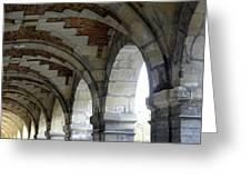 Architectural Artwork At Place De Vosges Greeting Card