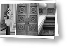 Architectural Triptych Greeting Card
