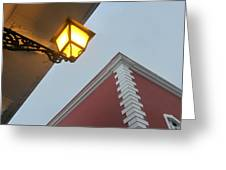 Architecture And Lantern 3 Greeting Card