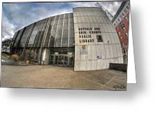 Architecture And Places In The Q.c. Series Becpl Greeting Card
