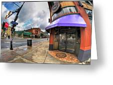 Architecture And Places In The Q.c. Series Spot Greeting Card