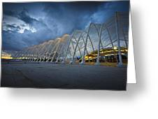 architecture by Calatrava Greeting Card