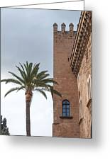 Architecture In Old Palma. Greeting Card