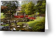 Architecture - Japan - Tranquil Moments  Greeting Card