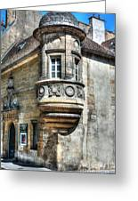 Architecture Of Dijon Greeting Card