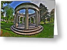 Architecture Of Forest Lawn  Greeting Card