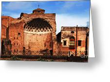 Architecture Of Italy Greeting Card