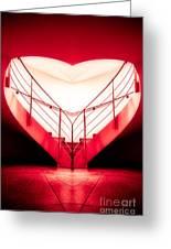 architecture's valentine - redI Greeting Card
