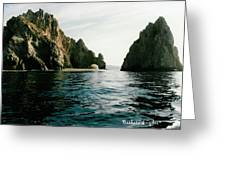 Archway At Cabo Greeting Card