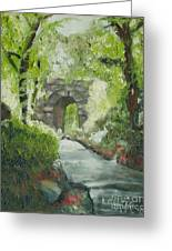 Archway In Central Park Greeting Card