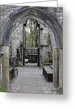 Archway Muckross Abbey Greeting Card