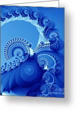 Arctic Blue Greeting Card