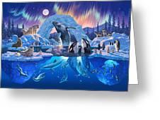 Arctic Harmony Greeting Card