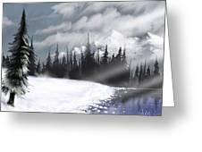Arctic Morning Greeting Card