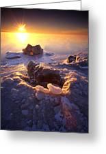 Arctic Sunrise Greeting Card
