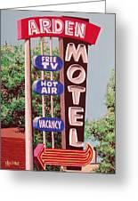 Arden Motel Greeting Card